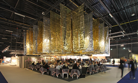 Dried Chat Room bar at Biennale Interieur 2014