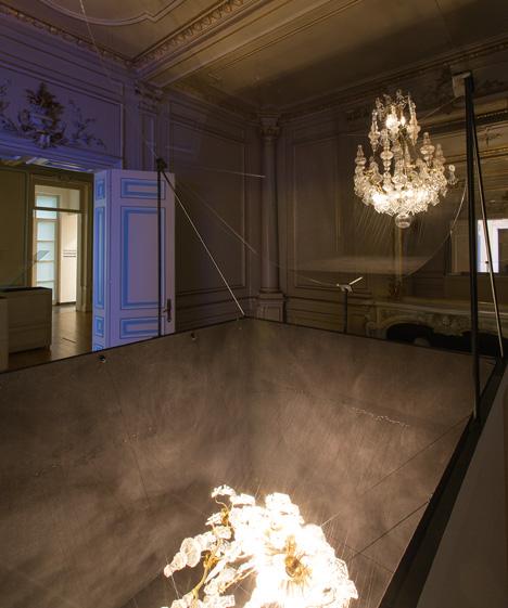 Glithero's Fantooms' installation at Biennale Interieur 2014