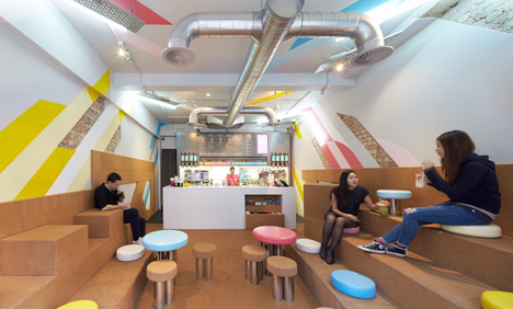 Biju Bubble Tea Rooms by Gundry and Ducker