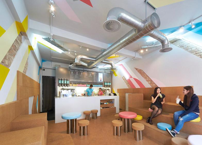 Biju Bubble Tea Rooms by Gundry and Ducker