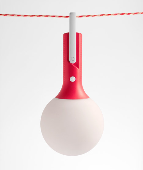 Bolla outdoor lamp by Claudio Gatto
