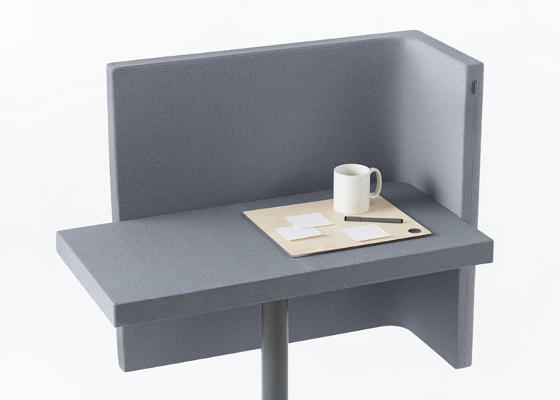 Simple  of Brackets lite office furniture by Nendo for Kokuyo