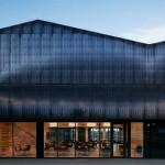 White Arkitekter adds corrugated copper walls to Norway's Bråtejordet School