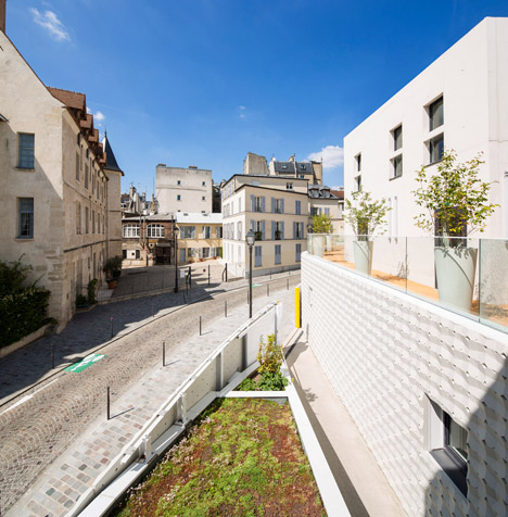 Child care centre in Paris by RH+ architecture