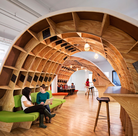Barbarian offices by Clive Wilkinson