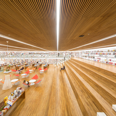 Studio MK27s Bookstore Of The 21st Century Was Designed As A Social Meeting Place