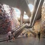 Miralles Tagliabue and Elizabeth de Portzamparc to design new Paris metro stations