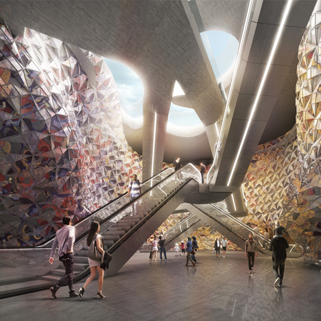 Miralles Tagliabue and Elizabeth de Portzamparc to design new Paris metro stations