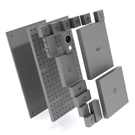 Phonebloks modular phone by Dave Hakkens