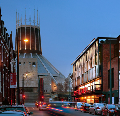 The Everyman Theatre in Liverpool by Haworth Tompkins