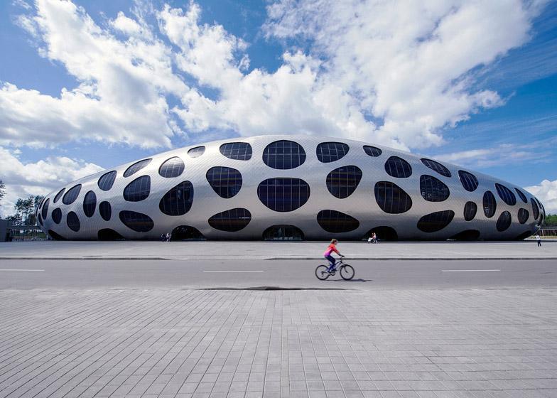 Football Stadium Arena Borisov by Ofis