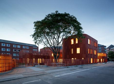 Forfatterhuset Kindergarten in Copenhagen by COBE