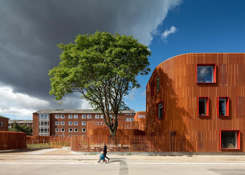 Forfatterhuset Kindergarten Copenhagen by COBE