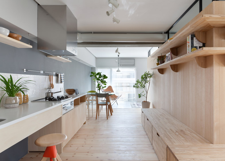 Fujigaoka M apartment by Sinato