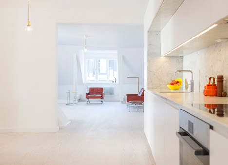 Gamla Stan apartment by StudioMama