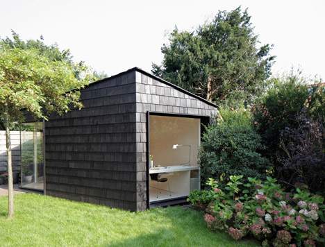 Attractive Garden Studio By Serge Schoemaker Architects