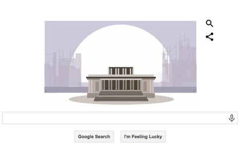 Google celebrates Christopher Wren in Google Doodle