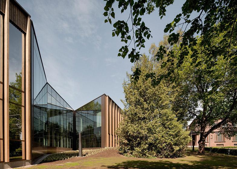 Contemporary Art Museum Gösta Serlachius extension by MX_SI
