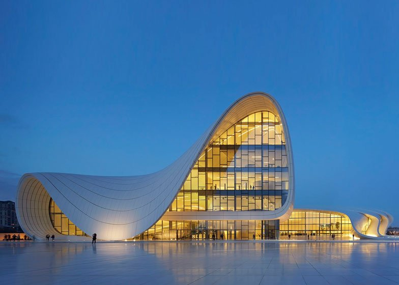 Runner-up: Heydar Aliyev Center by Zaha Hadid - photographed by Hufton and Crow