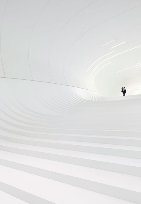 Winner: Heydar Aliyev Center by Zaha Hadid - photographed by Hufton and Croft