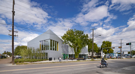 Highlands Branch Library by Schmidt Hammer Lassen