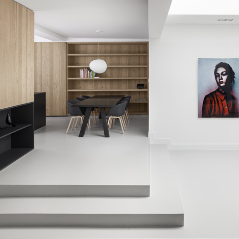 i29 converts Amsterdam garage into a single-storey apartment