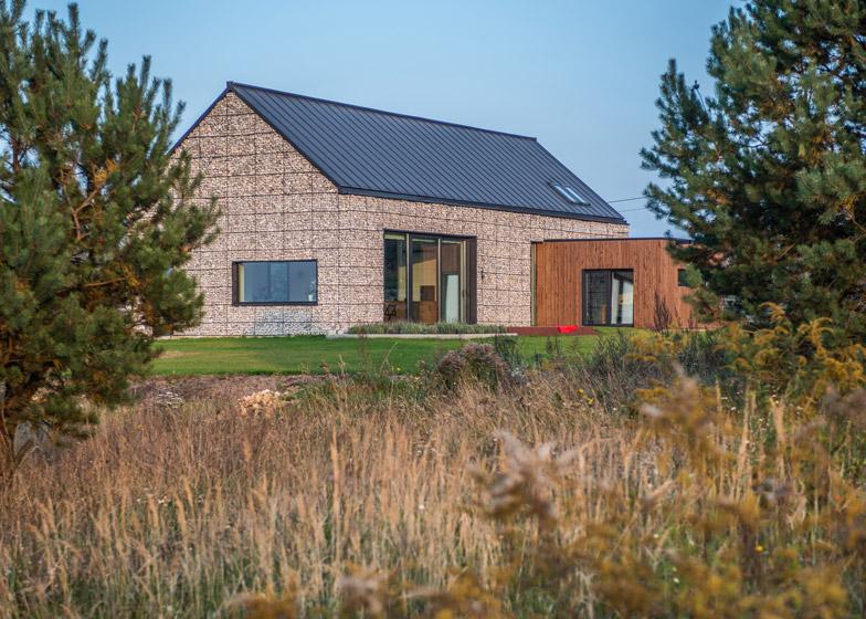 House in the Landscape by Kropka Studio