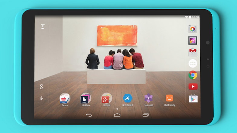 Hudl2 tablet by Tesco and Chauhan Studio