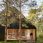 Tham & Videgård's Husarö House is a scenic retreat on the Stockholm archipelago