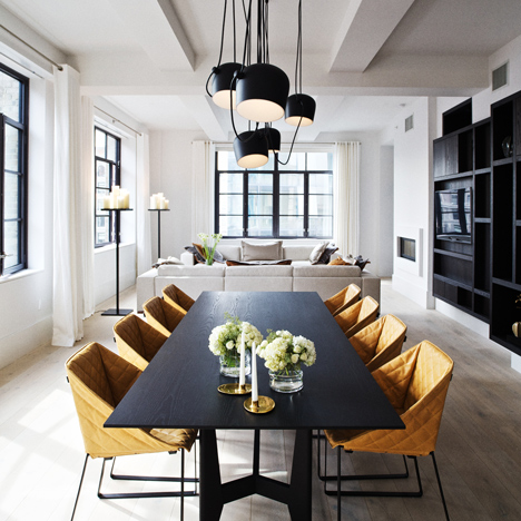 """Piet Boon brings """"Dutch design"""" to Huys apartments in New York"""
