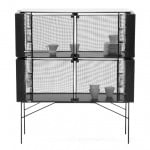 Meike Harde's metal-mesh Hybrid Cabinet displays and protects its contents