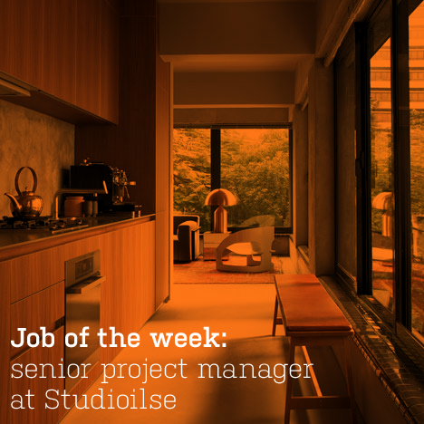 Job of the week: senior project manager at Studioilse