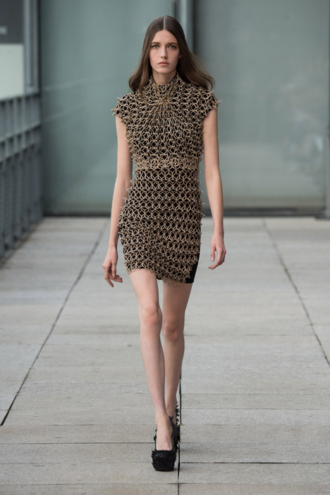 Spring Summer 2015 collection by Iris van Herpen