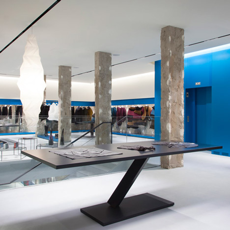 Issey Miyake London flagship store by Tokujin Yoshioka