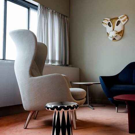 Jaime Hayón refurbishes Room 506 in Arne Jacobsen's SAS Hotel