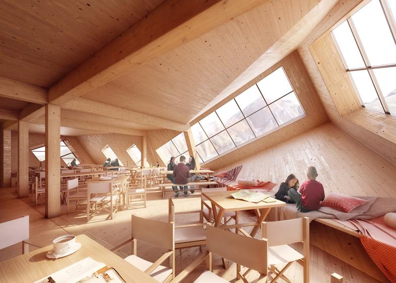 Kežmarské Hut by Atelier 8000