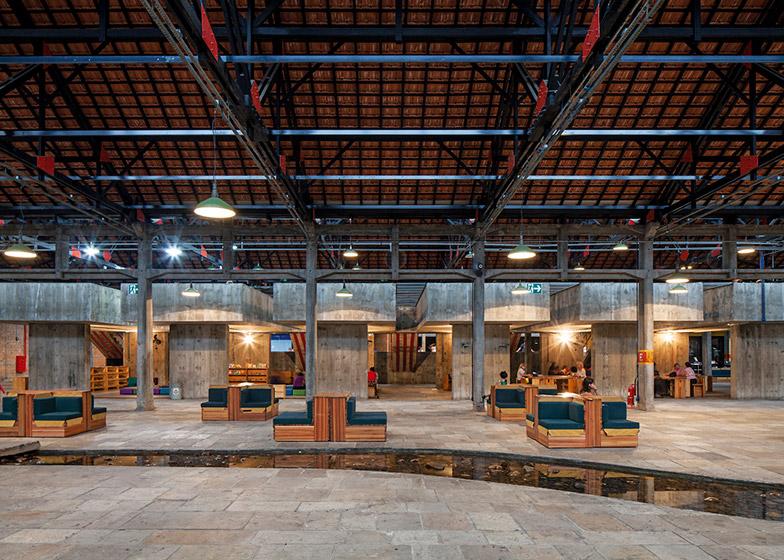 SESC Pompéia, São Paulo by Lina Bo Bardi