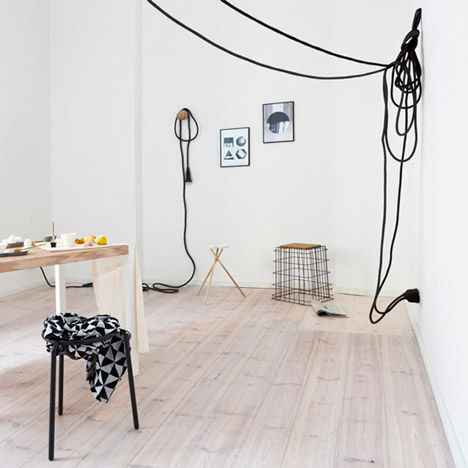 Apartment in Berlin featuring Llot Llov, by Sarah Van Peteghem for Fantastic Frank