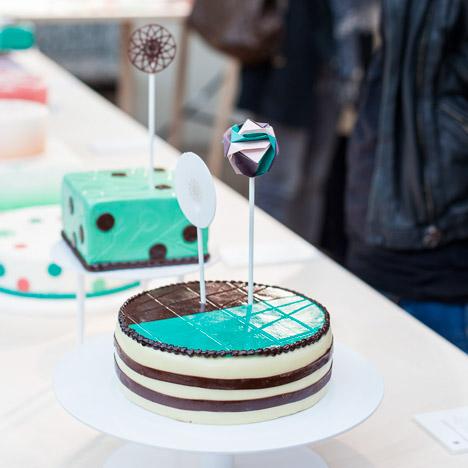 "Designers Lucy.D rethink ""kitsch"" Viennese cakes for historic Café Landtmann"