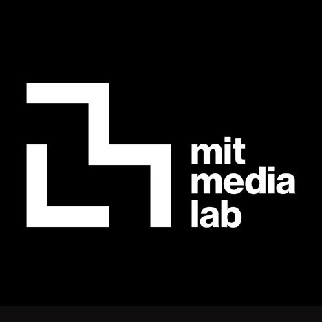 Pentagram rebrands MIT Media Lab with grid-generated glyphs