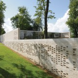 Reiach and Hall adds walled gardens to Maggie's Centre Lanarkshire