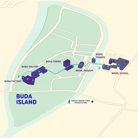 Map of Buda Island