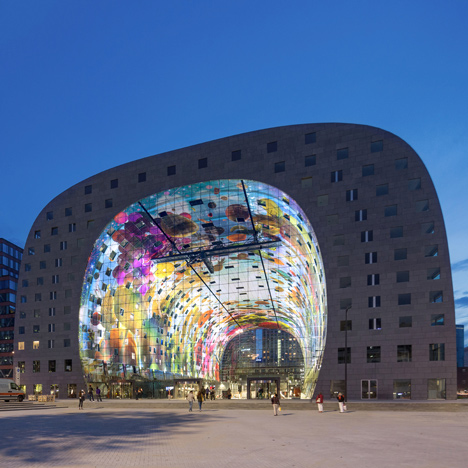 Markthal Rotterdam by MVRDV – Postmodernism revival