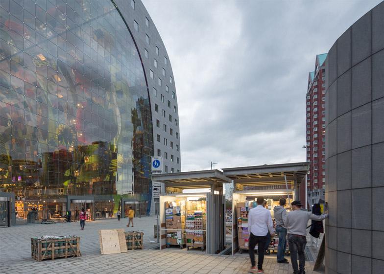 Markthal by MVRDV opens in Rotterdam