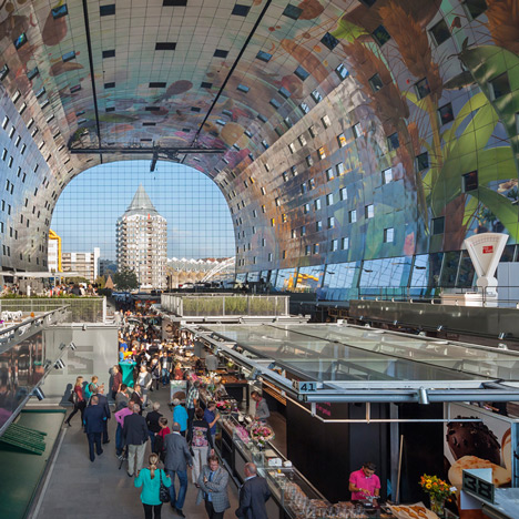 "MVRDV designed the Markthal Rotterdam to be ""as proud as possible"""