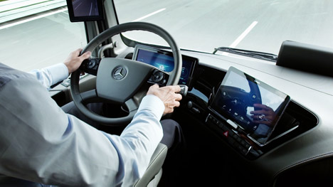 Mercedes Benz Future Truck 2025