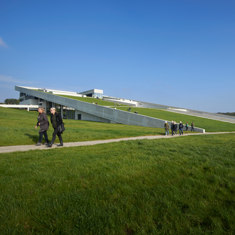 Moesgaard Museum by Henning Larsen Architects