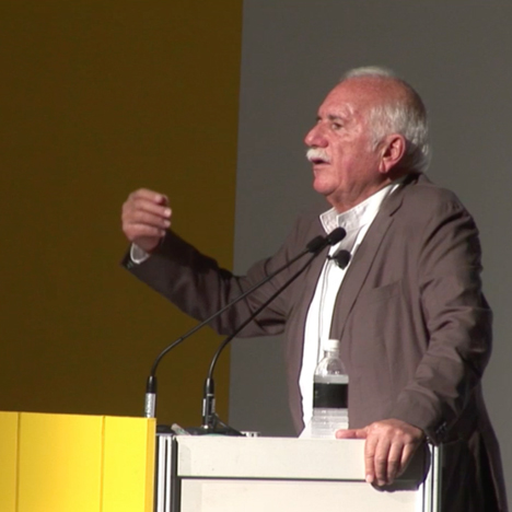 Moshe Safdie at World Architecture Festival 2014