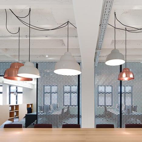 Alexander Fehre designs industrial-style office<br /> for a German conveyor-belt manufacturer