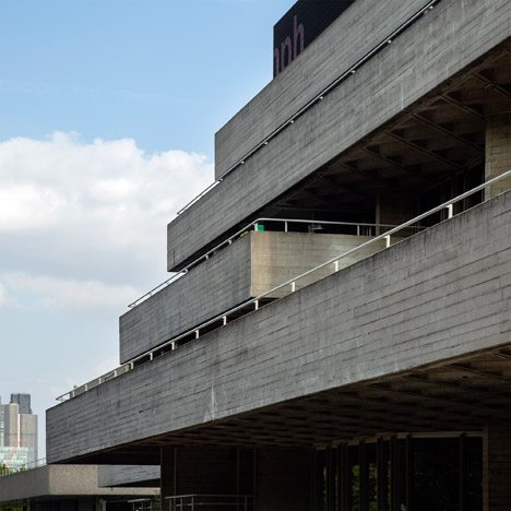National Theatre by Denys Lasdun